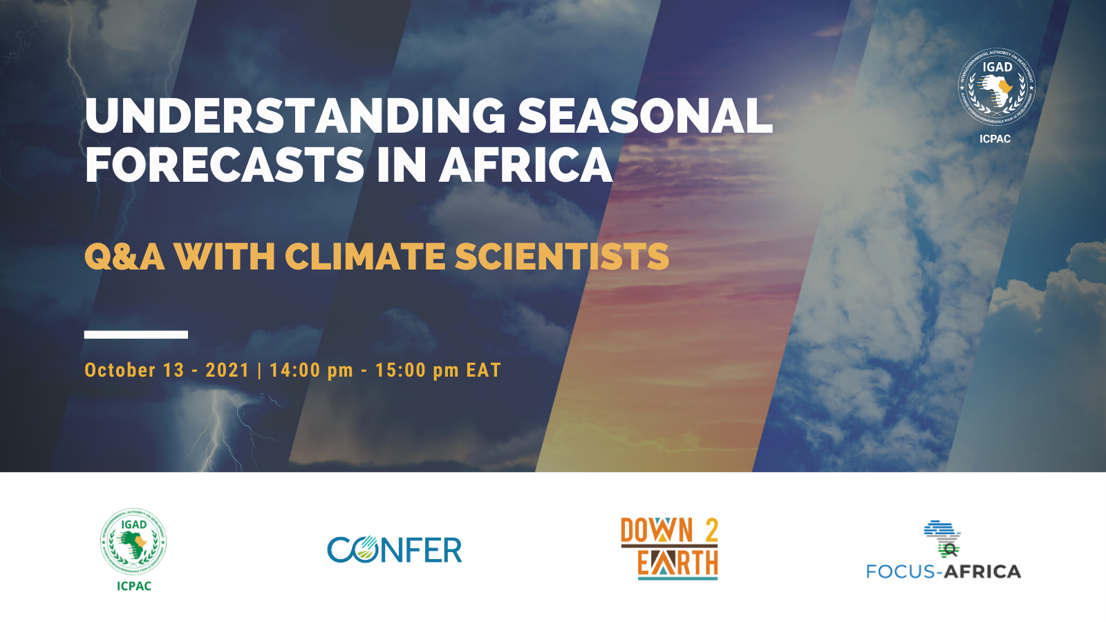 _DOWN2EARTH_ is co-hosting a webinar on forecasting!